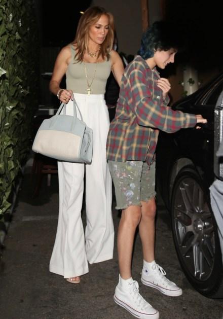 Jennifer Lopez e Ben Affleck escono da Craig dopo cena