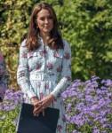 La duchessa di Cambridge visita RHS Wisley