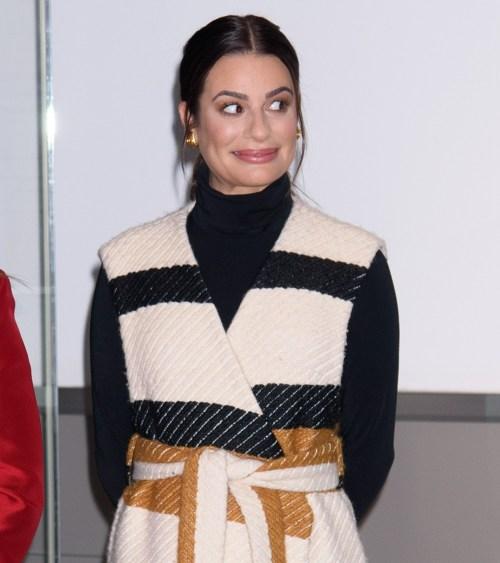 Lea Michele ad un'apparizione pubblica per L...