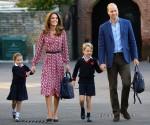 La principessa Charlotte è stata avvistata il suo primo giorno di scuola a Londra!