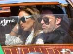 La coppia 'Bennifer' arriva a Venezia durante la 78° Mostra del Cinema di Venezia