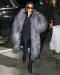 Kim Kardashian arriva alla cena SNL al Lattanzi di New York City