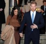 Il principe Harry e la duchessa Meghan del Sussex visitano la Canada House, Londra, UK