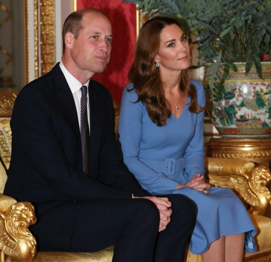 Pubblico a Buckingham Palace