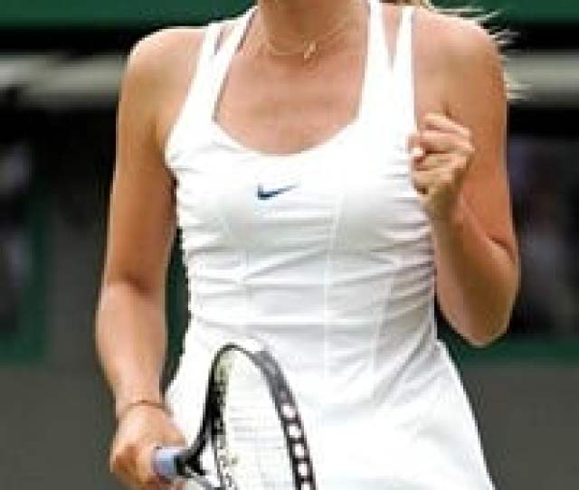 Yes Maria Is No Longer Going To Shoot Herself Up With Soviet Era Bull Testosterone Just So She Can Compete Against The Gorilla Williams Sisters