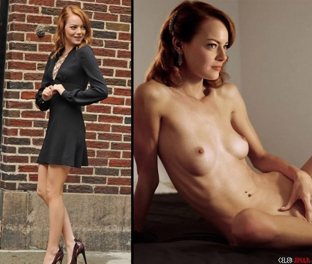 Perhaps The Most Famous Celebrity Redhead Today Is None Other Than Actress Emma Stone As You Can See From This Nude Photo Us Muslims Can Not Add A D To