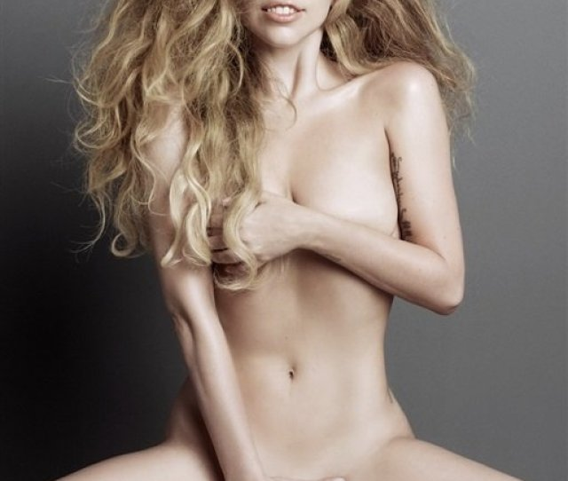 Lady Gagas Natural Look In New Nude Photo