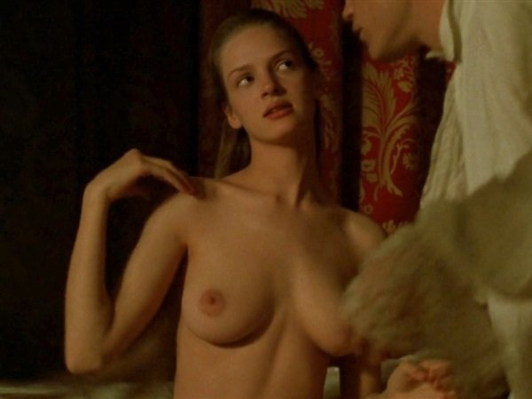 Uma Thurman Nude Scene From Dangerous Liaisons