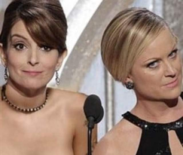 Tina Fey Amy Poehlers Nude Surprise For Golden