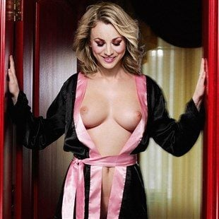 Kaley Cuoco Topless Behind The Scenes Of The Big Bang Theory