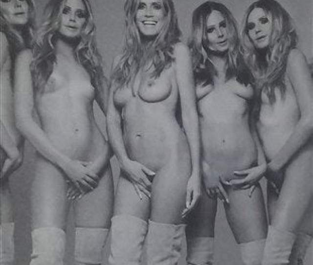 Heidi Klum Releases Plethora Of Nude Photos And A Shower Video