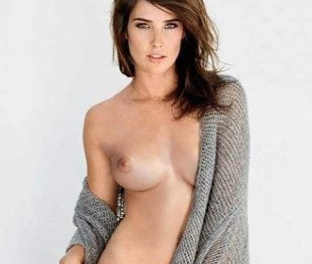 Cobie Smulders Nipple Slip And Camel Toe In Alright Now