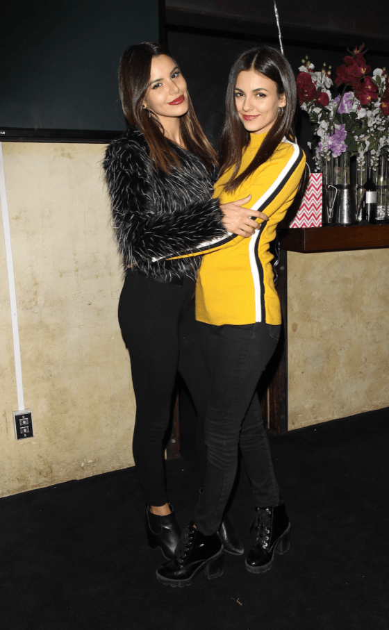 Victoria Justice Celebrates 25th Birthday At Katana