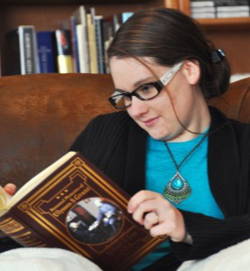 Author Shot - Reading