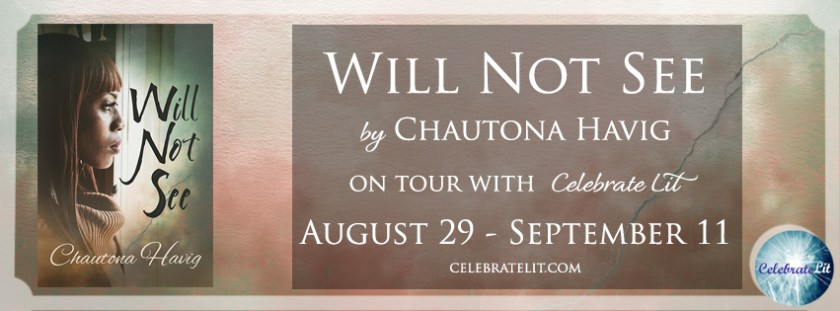 Book review for Will Not See by Chautona Havig