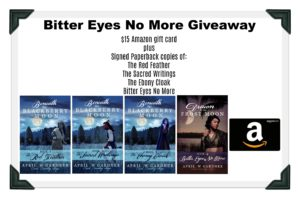 bitter eyes no more giveaway