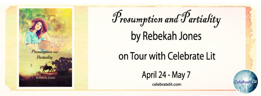 Hi friends, my couch visitor today is Rebekah Deedrick author of Presumption and Partiality who also has a GIVEAWAY for you - enjoy.