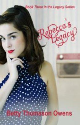 Margaret Kazmierczak interviews Betty Thomason Owens author of Rebecca's Legacy