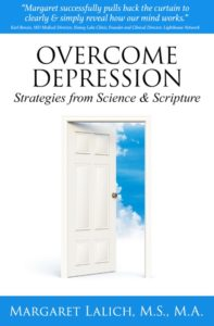 Book cover: Overcome Depression with Science and Scripture