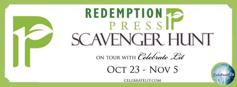 Redemption press fall scavenger hunt banner