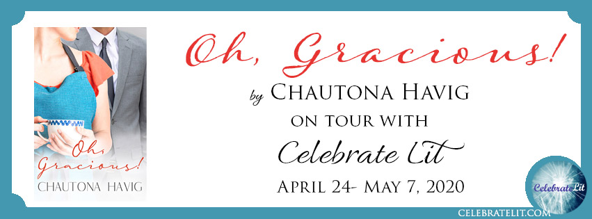 oh, gracious banner: On tour with Celebrate Lit, April 24- May 7 2020.