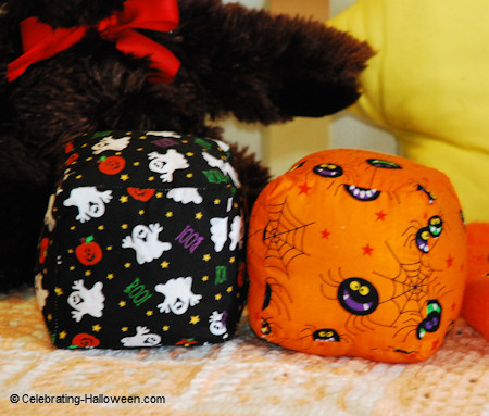 Halloween Baby Blocks - Easy Halloween Sewing Project