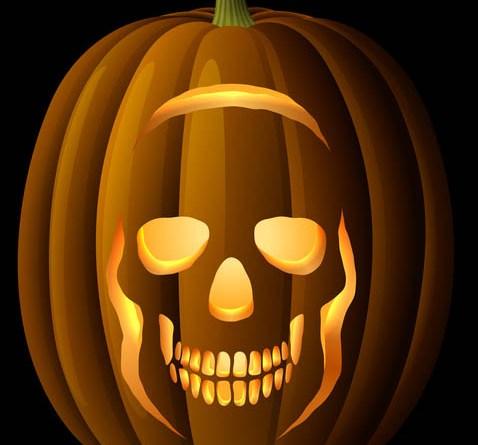 Halloween Pumpkin Carving Ideas & Free Stencils, Templates