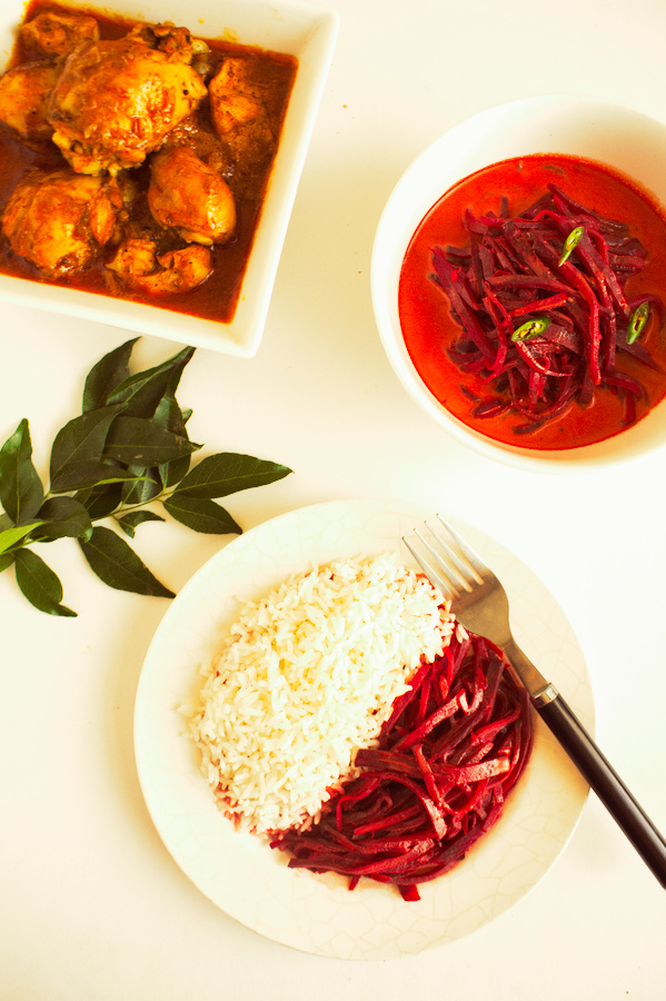 Coconut milk and spices in the curry bring out the sweetness of beetroot, which makes you crave for more. This healthy Sri Lankan beetroot curry is a must-try!