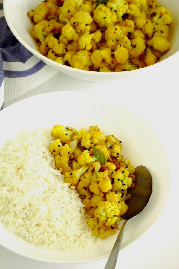 Pan roasted Cauliflower  recipe