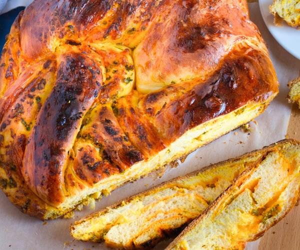 carrot swirl bread