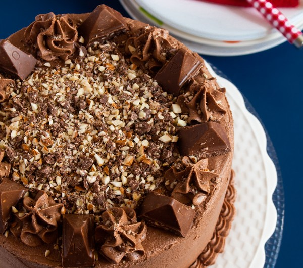 Chocolate Toblerone Cake