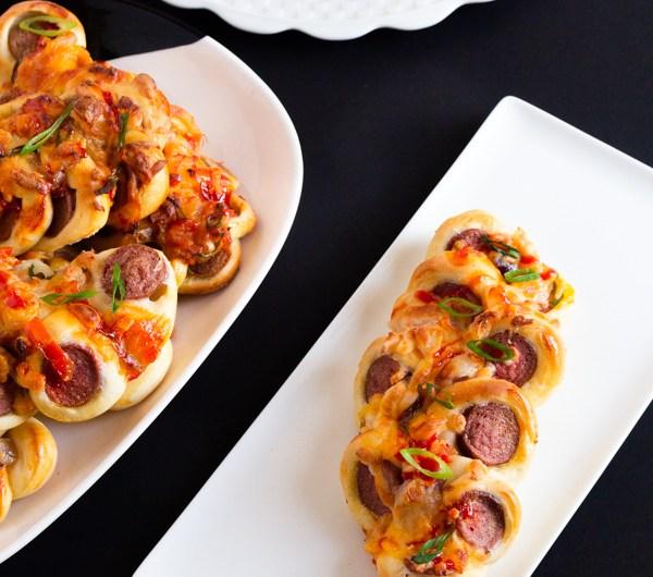 Twisted Hot Dog Bun Recipe(Sausage Buns)