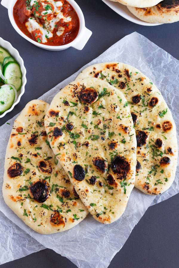 garlic naan recipe