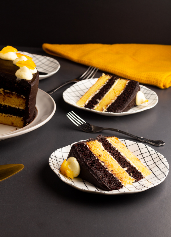 orange and chocolate cake recipe