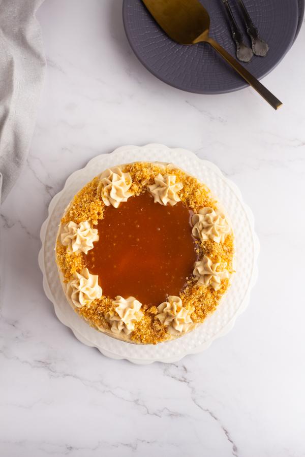 vanilla coffee cake recipe