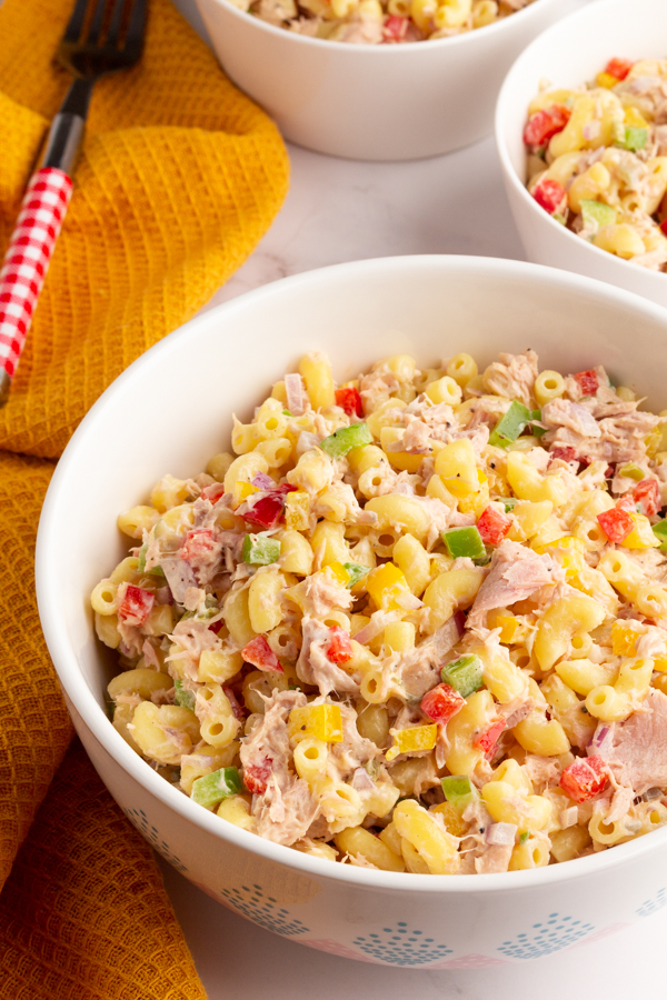 Simple Tuna macaroni Salad
