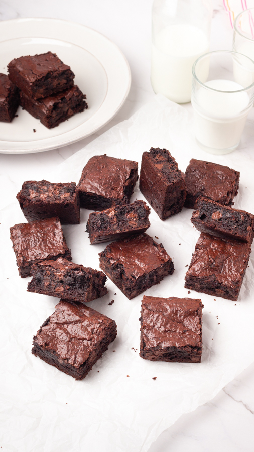 how to make fudgy brownies
