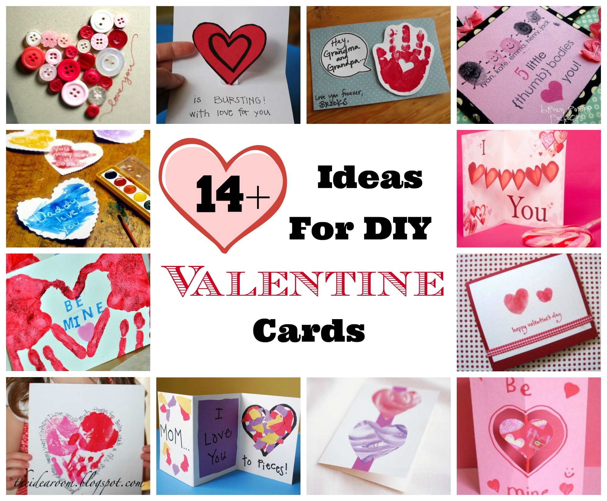 Valentine S Day Diy Homemade Card Ideas