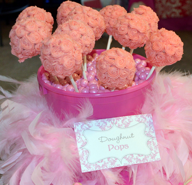 Pink Damask Princess 1st Birthday Party