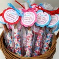 Valentines Day Favor Tags - great for school teachers and friends!