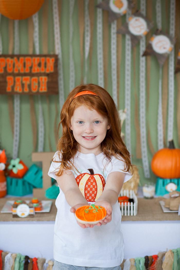 Rustic Fall Pumpkin Patch Baby Shower Ideas