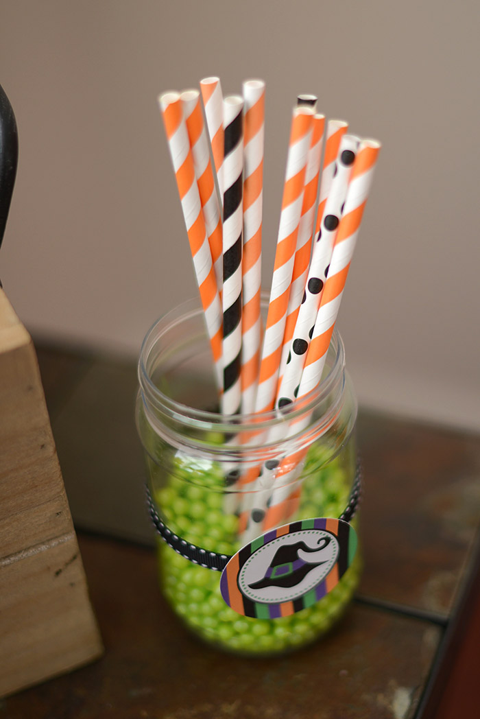Party Ideas Not So Spooky Halloween - Paper Straws