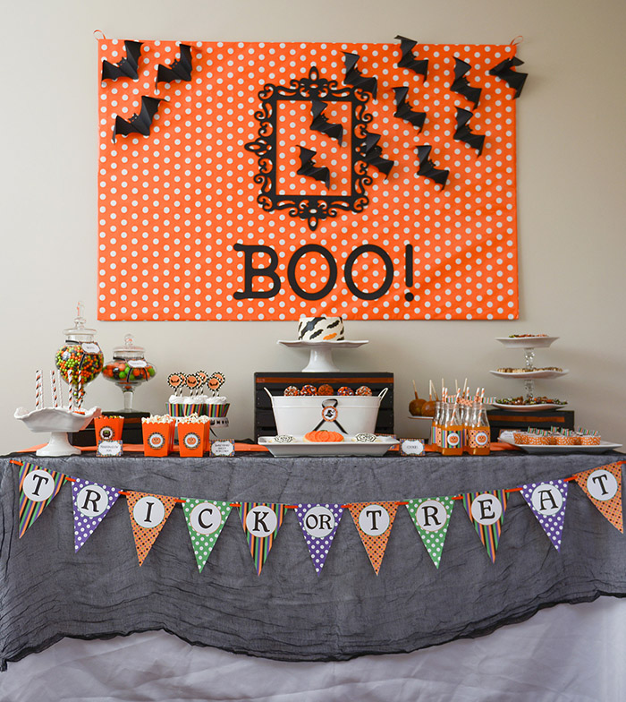 Kids Halloween (Not Scary) Party Ideas