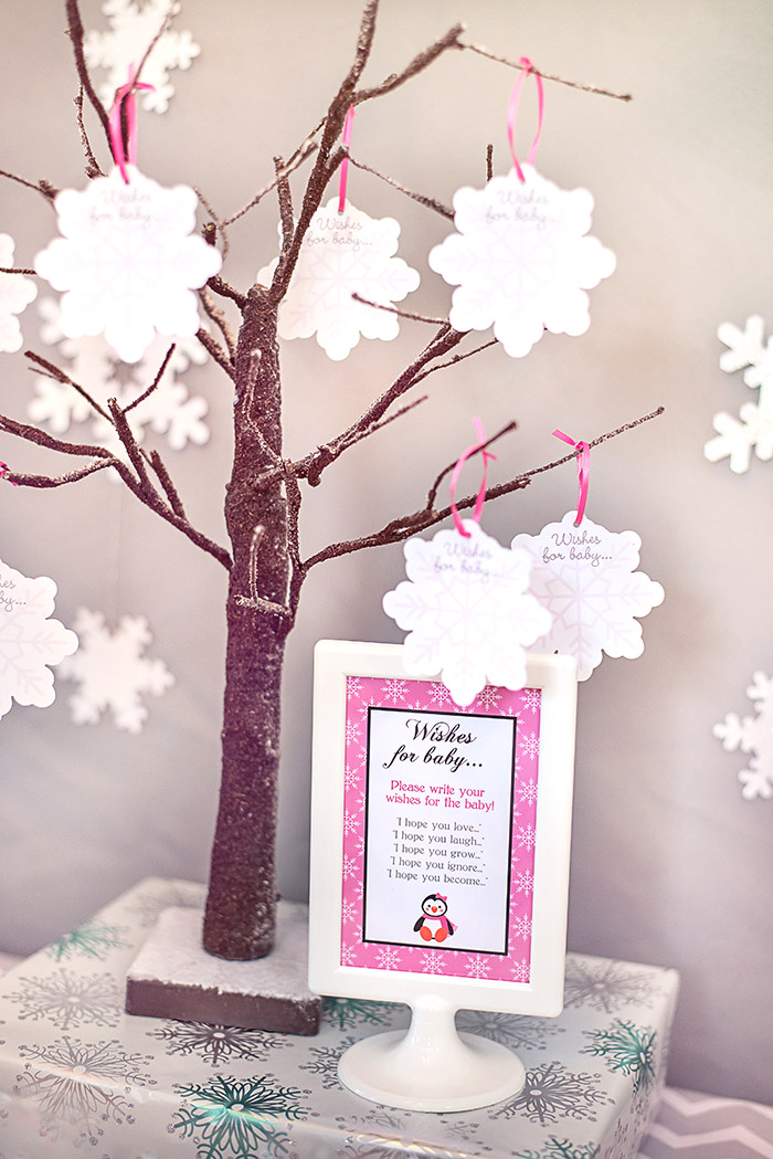 Baby Shower Wishing Tree Wishes for Baby