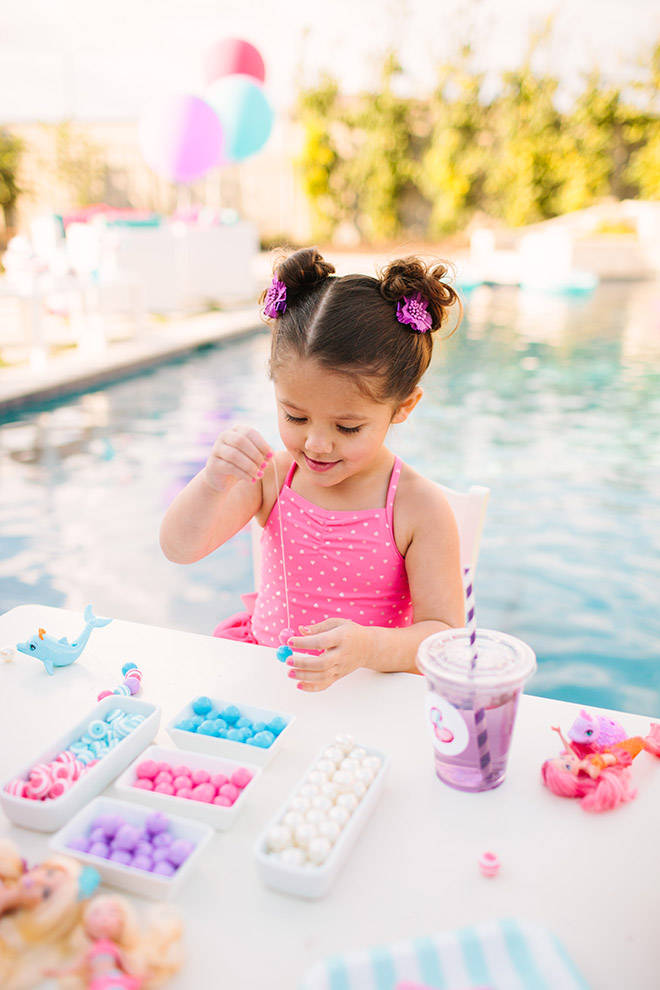 Barbie The Pearl Princess Mermaid Party Ideas - Craft Activities