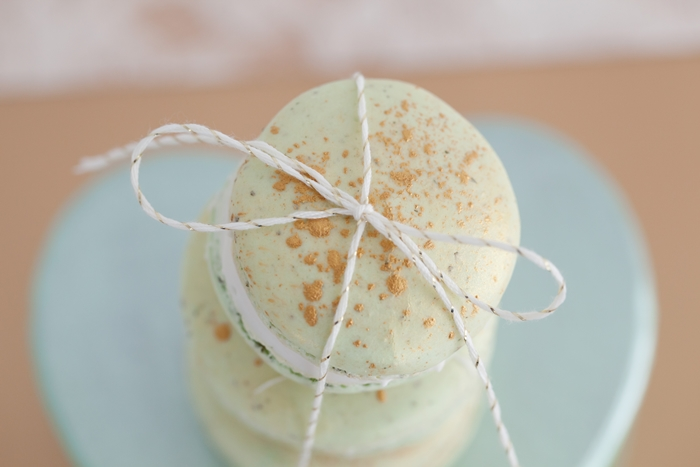 Mint To Be Bridal Shower Macaroons