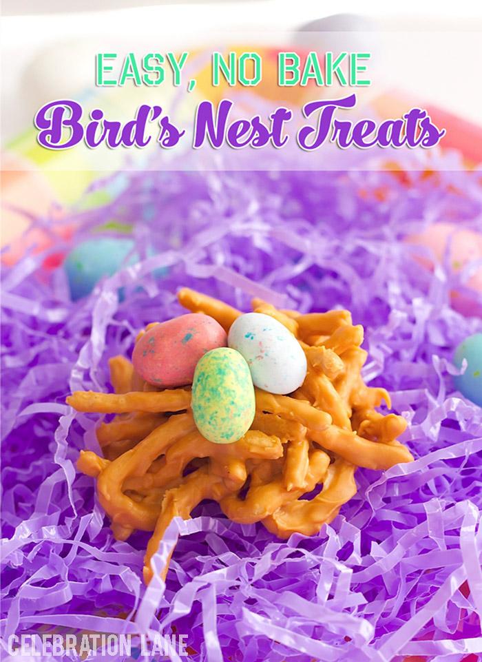 Easy Bird's Nest Treats for Spring