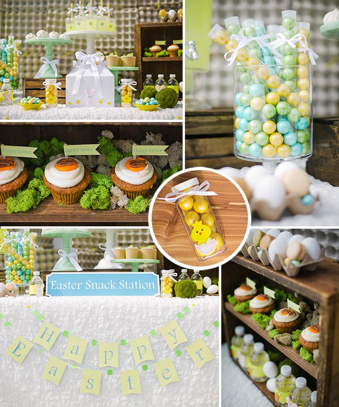 Easter Snack Station