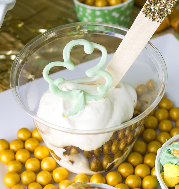 """St. Patrick's Day """"Lucky In Love"""" Party - Chocolate Shamrock"""
