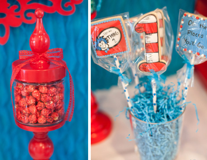 Dr. Seuss Thing 1 and Thing 2 Baby Shower